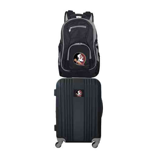 CLFSL108: NCAA Florida State Seminoles 2 PC ST Luggage / Backpack