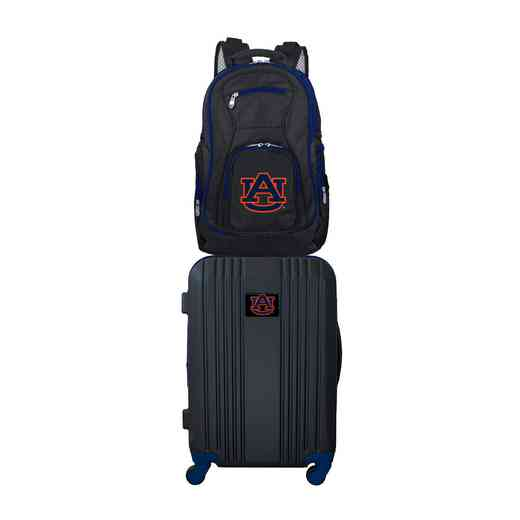 CLAUL108: NCAA Auburn Tigers 2 PC ST Luggage / Backpack