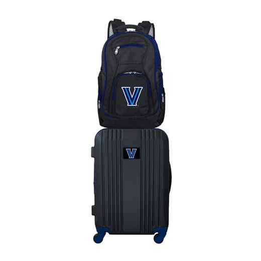 CLVLL108: NCAA Villanova Wildcats 2 PC ST Luggage / Backpack