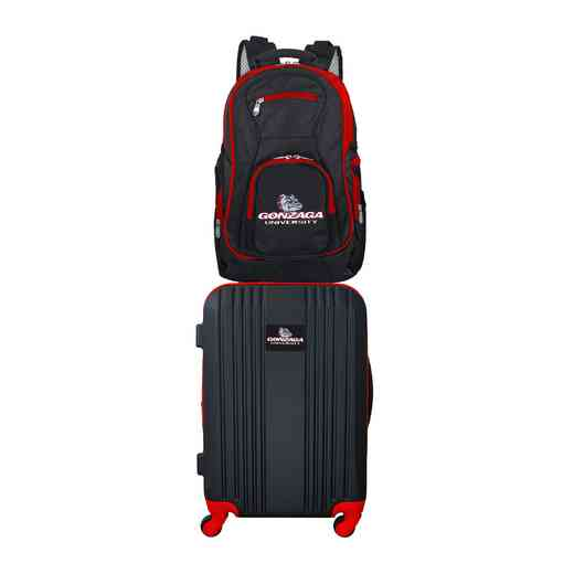 CLGZL108: NCAA Gonzaga Unv. Bulldogs 2 PC ST Luggage / Backpack