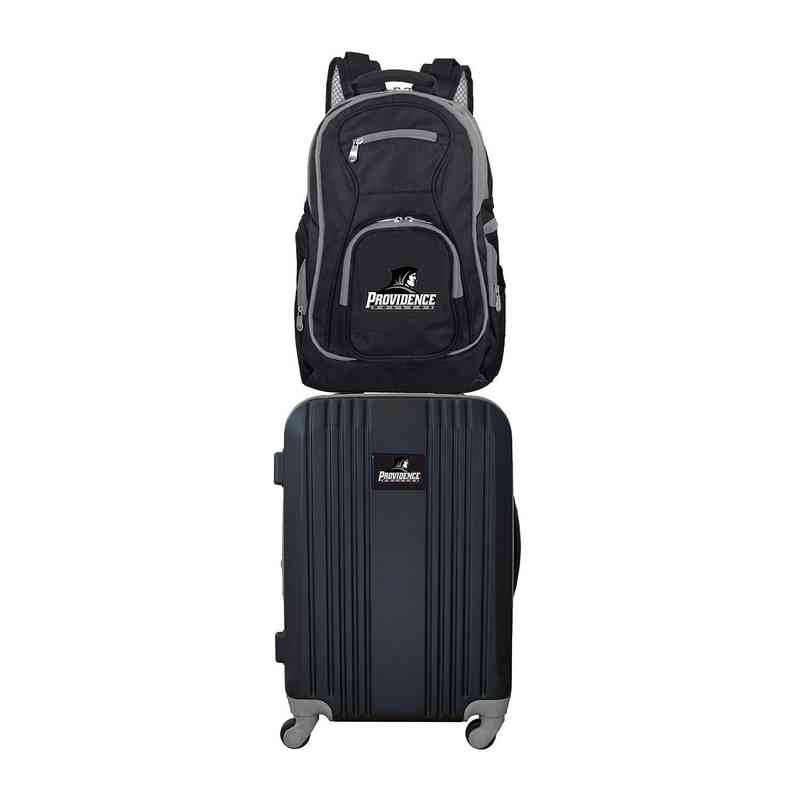 CLPCL108: NCAA Providence College 2 PC ST Luggage / Backpack
