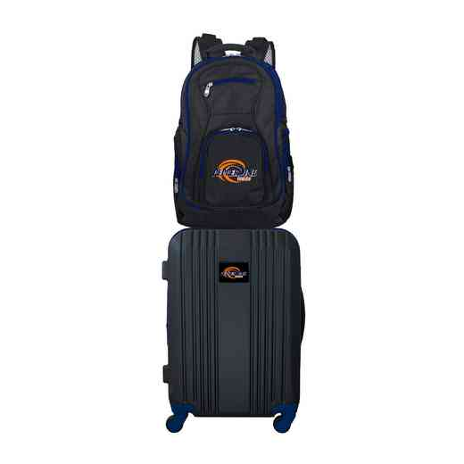 CLPPL108: NCAA Pepperdine Unv. Waves 2 PC ST Luggage / Backpack