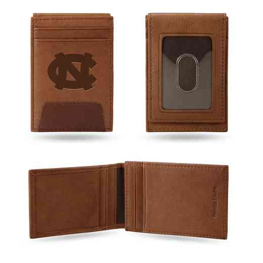 FPW130101: NORTH CAROLINA PREMIUM LEATHER FRONT POCKET WALLET