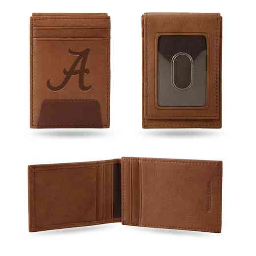 FPW150101: ALABAMA PREMIUM LEATHER FRONT POCKET WALLET