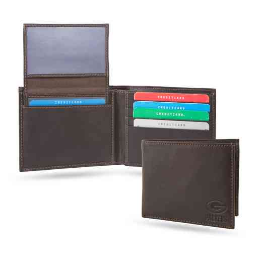 SHB3305: PACKERS SPARO SHIELD BILLFOLD