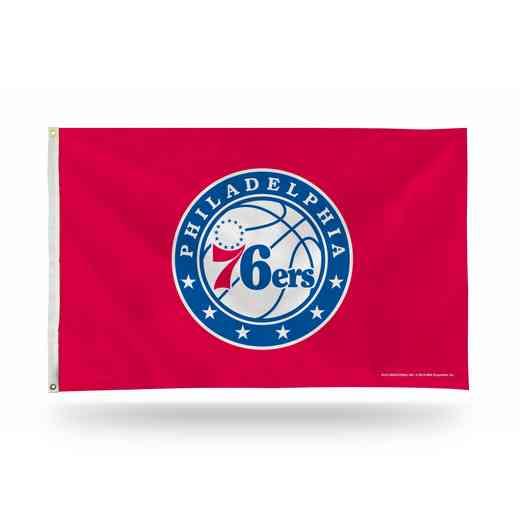 FGB90004: RICO PHILADELPHIA 76ERS BANNER FLAG