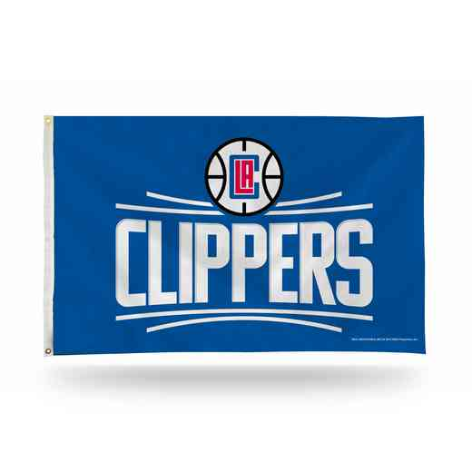 FGB75005: RICO LOS ANGELES CLIPPERS BANNER FLAG
