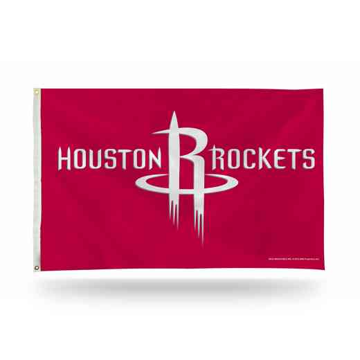 FGB89003: RICO HOUSTON ROCKETS 3 X 5 BANNER FLAG