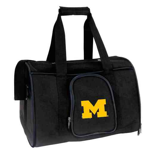 CLMCL901: NCAA Michigan Wolverines Pet Carrier Premium 16in bag