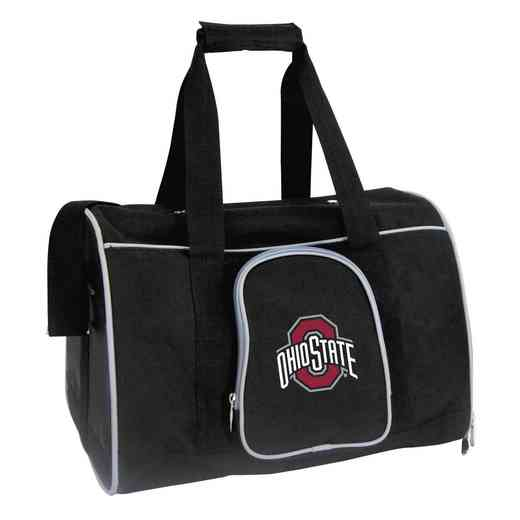 CLOSL901: NCAA Ohio State University Buckeyes Pet Carrier Premium 16in bag