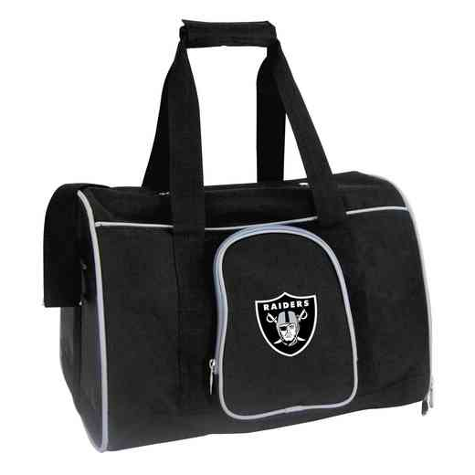 NFORL901: NFL Oakland Raiders Pet Carrier Premium 16in bag