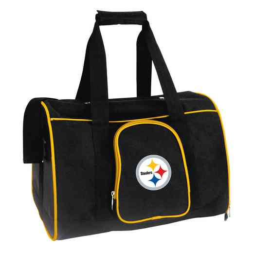 NFPSL901: NFL Pittsburgh Steelers Pet Carrier Premium 16in bag