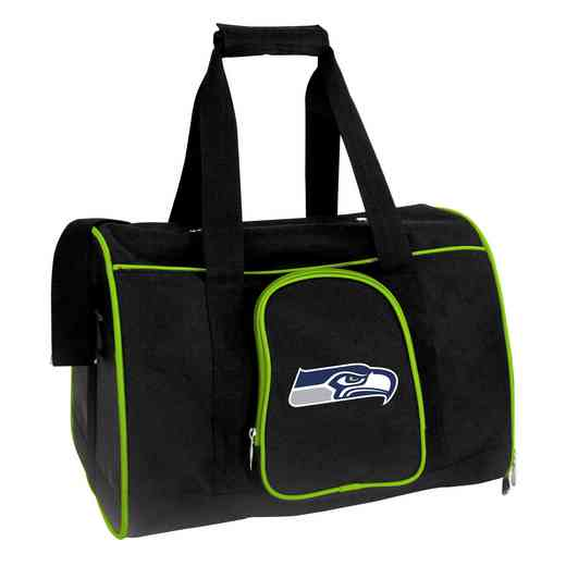 NFSSL901: NFL Seattle Seahawks Pet Carrier Premium 16in bag