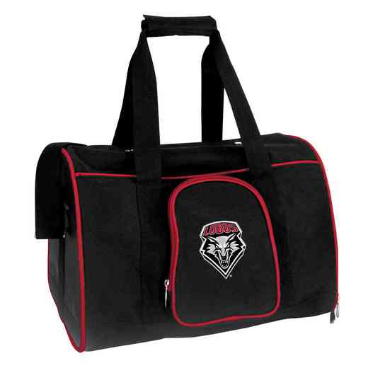 CLNML901: NCAA New Mexico Lobos Pet Carrier Premium 16in bag