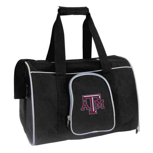 CLTAL901: NCAA Texas A&M Aggies Pet Carrier Premium 16in bag