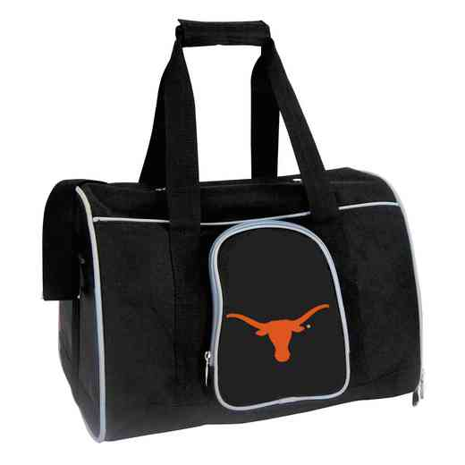 CLTXL901: NCAA Texas Longhorns Pet Carrier Premium 16in bag