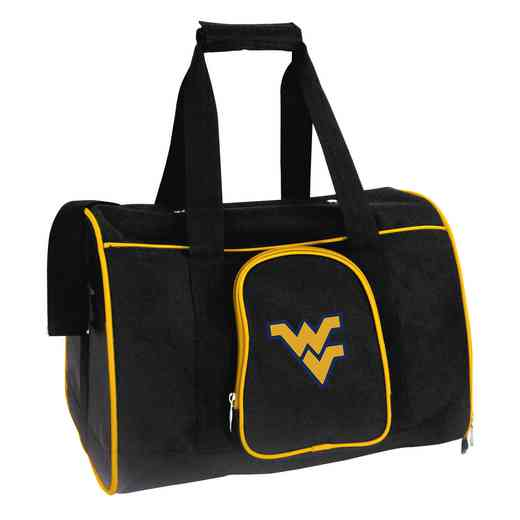 CLWVL901: NCAA West Virginia Mountaineers Pet Carrier Premium 16in bag
