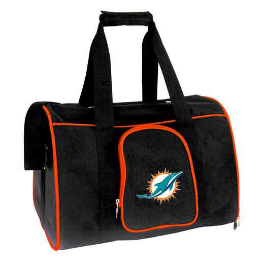 NFMDL901: NFL Miami Dolphins Pet Carrier Premium 16in bag