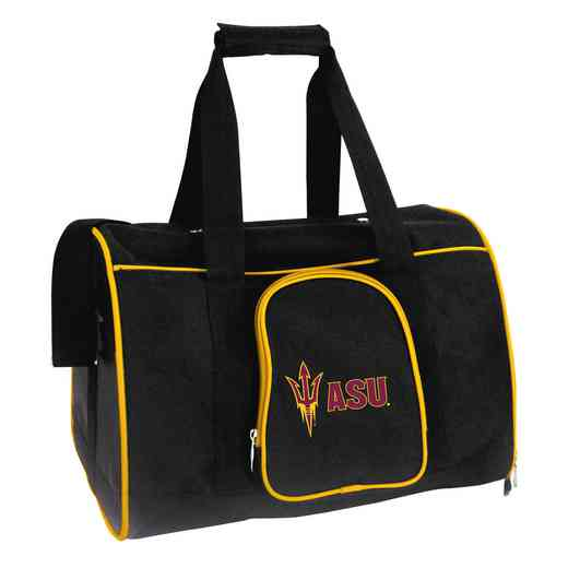 CLAZL901: NCAA Arizona State Sun Devils Pet Carrier Premium 16in bag