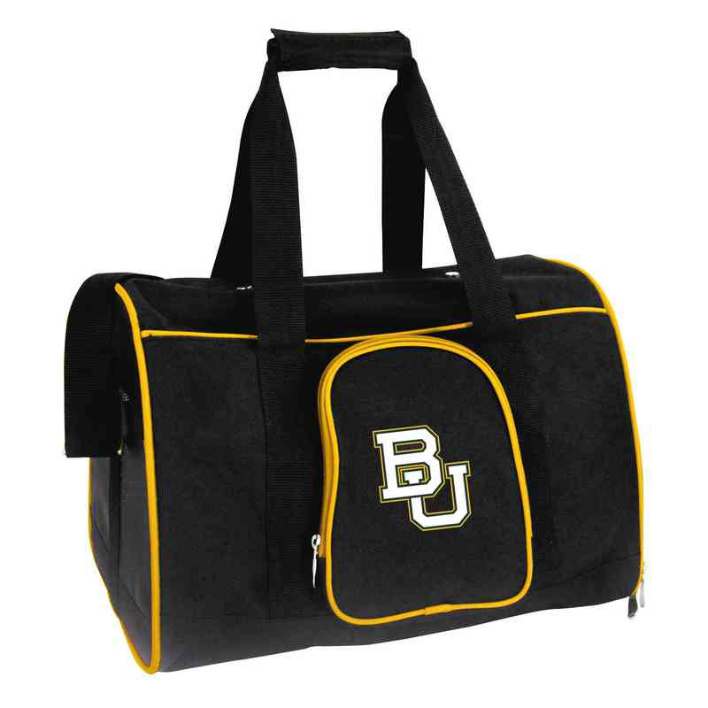CLBAL901: NCAA Baylor Bears Pet Carrier Premium 16in bag