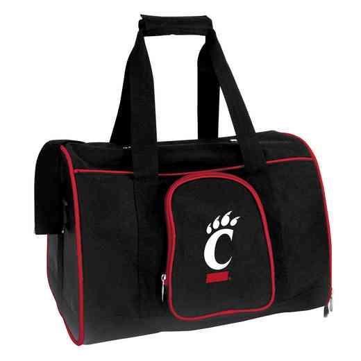CLCIL901: NCAA Cincinnati Bearcats Pet Carrier Premium 16in bag