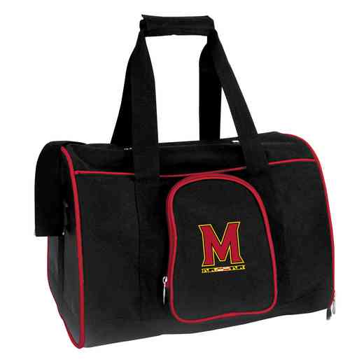 CLMDL901: NCAA Maryland Terrapins Pet Carrier Premium 16in bag