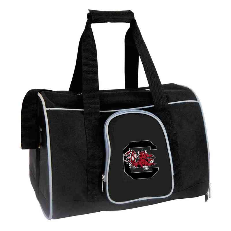 CLSOL901: NCAA South Carolina Gamecocks Pet Carrier Premium 16in bag