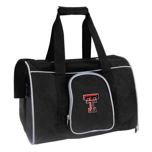 CLTTL901: NCAA Texas Tech Red Raiders Pet Carrier Premium 16in bag