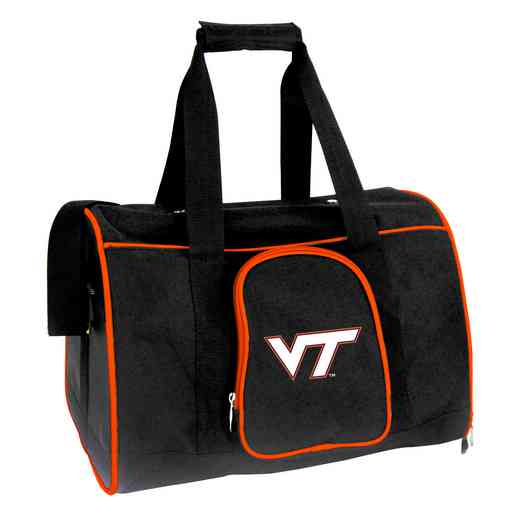 CLVTL901: NCAA Virginia Tech Hokies Pet Carrier Premium 16in bag