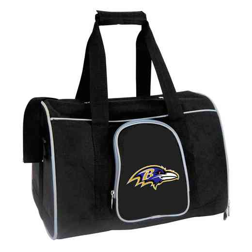 NFBRL901: NFL Baltimore Ravens Pet Carrier Premium 16in bag