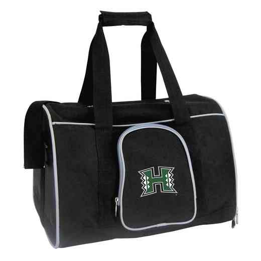 CLHIL901: NCAA Hawaii Warriors Pet Carrier Premium 16in bag