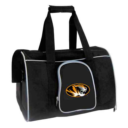 CLMOL901: NCAA Missouri Tigers Pet Carrier Premium 16in bag