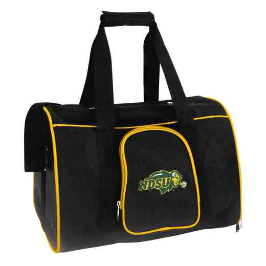 CLNUL901: NCAA North Dakota State Bison Pet Carrier Premium 16in bag