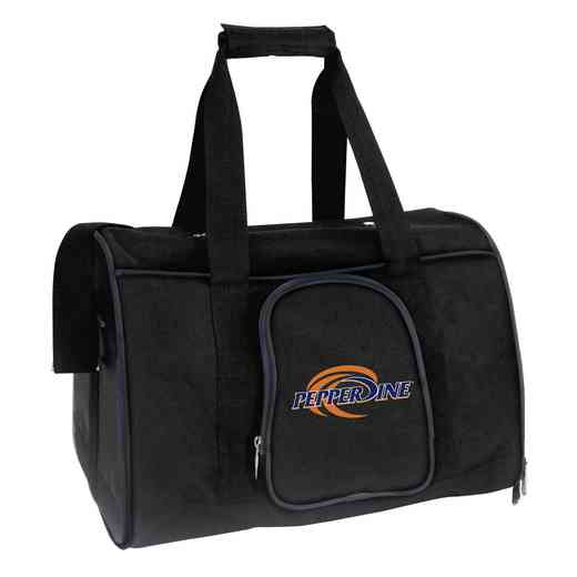 CLPPL901: NCAA Pepperdine Univ Waves Pet Carrier Premium 16in bag