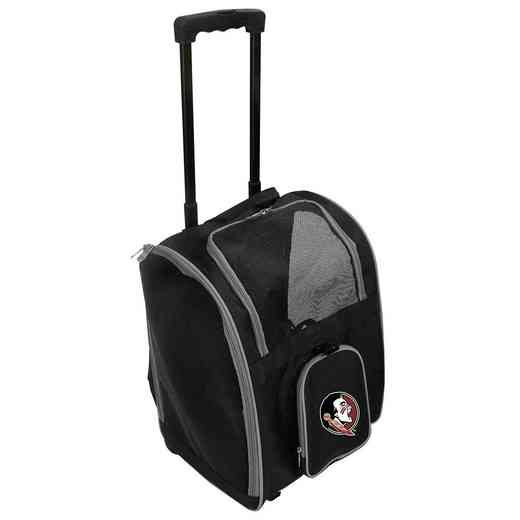 CLFSL902: NCAA Florida ST Seminoles Pet Carrier Premium bag W/ wheels