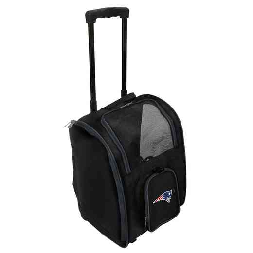 NFNPL902: NFL New England Patriots Pet Carrier Premium bag W/ wheels