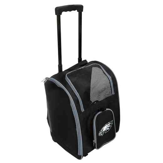 NFPEL902: NFL Philadelphia Eagles Pet Carrier Premium bag W/ wheels