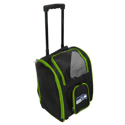 NFSSL902: NFL Seattle Seahawks Pet Carrier Premium bag W/ wheels