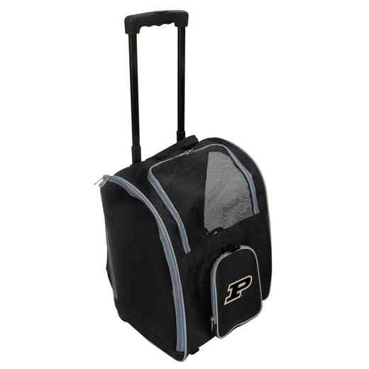 CLPUL902: NCAA Purdue Boilermakers Pet Carrier Premium bag W/ wheels