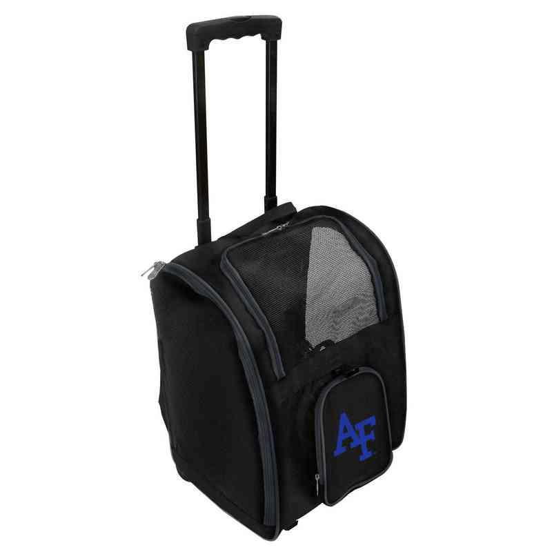 CLAFL902: NCAA Air Force Falcons Pet Carrier Premium bag W/ wheels