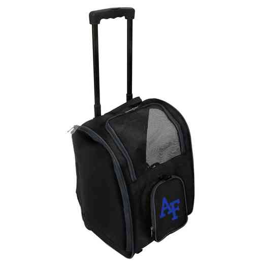 CLAFL902: NCAA Air Force Falcons Pet Carrier Premium bag W/ wheels