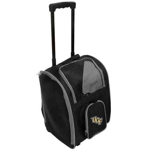 CLCFL902: NCAA CFlorida Golden Knights PetCarrierPrem bag W/ wheels