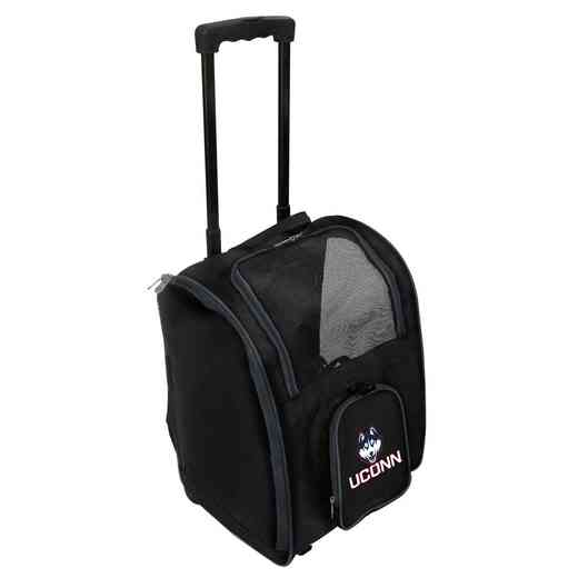 CLCNL902: NCAA Connecticut Huskies Pet Carrier Premium bag W/ wheels