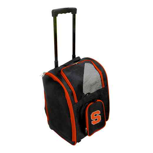 CLSYL902: NCAA Syracuse Orange Pet Carrier Premium bag W/ wheels