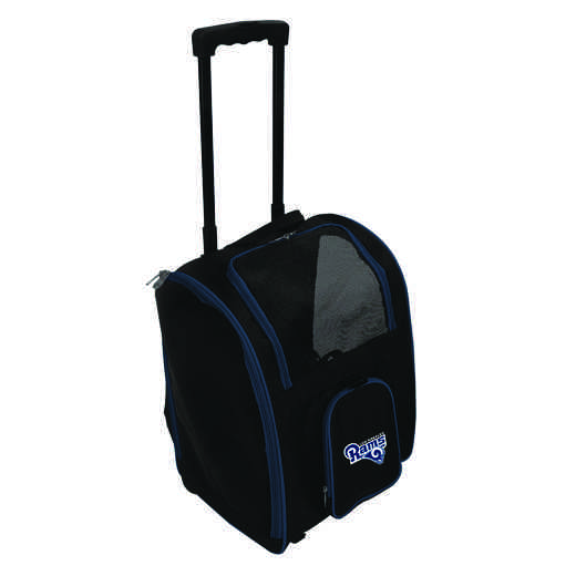 NFLRL902: NFL Los Angeles Rams Pet Carrier Premium bag W/ wheels