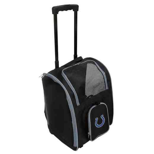 NFICL902: NFL Indianapolis Colts Pet Carrier Premium bag W/ wheels