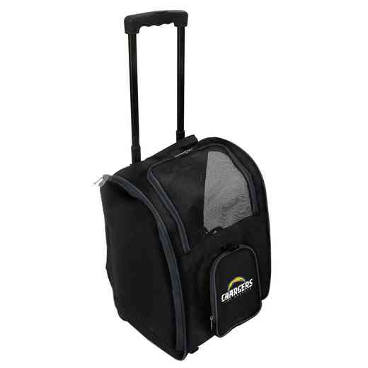 NFLCL902: NFL Los Angeles Chargers  Pet Carrier Premium bag W/ wheels