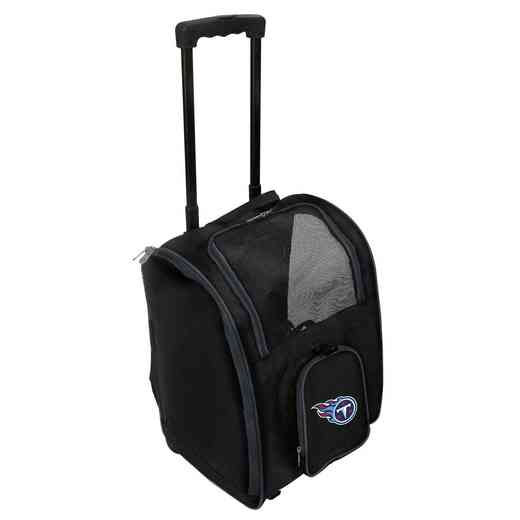 NFTTL902: NFL Tennessee Titans Pet Carrier Premium bag W/ wheels