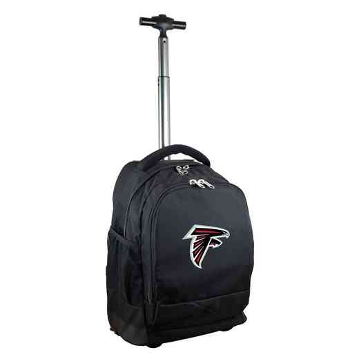 NFAFL780-BK: NFL Atlanta Falcons Wheeled Premium Backpack