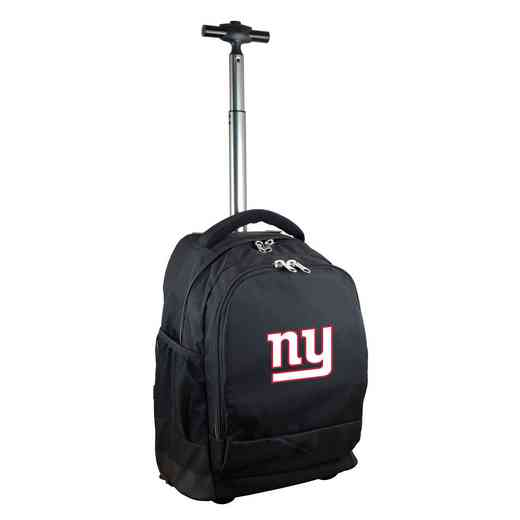 NFNGL780-BK: NFL New York Giants Wheeled Premium Backpack